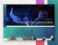 UI Design: Videogames Store & Seamless Checkout