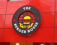 The Burger House - Interior Identity