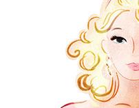 Персонаж для сети магазинов женской одежды LookLike