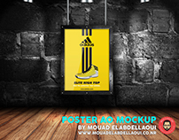 POSTER A0 MOCKUP FREE DOWNLOAD