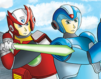 Zero and Megaman X