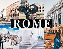 Free Rome Mobile & Desktop Lightroom Preset