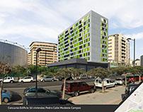 Concurso Edificio 50 viviendas en Pedro Modesto Campos