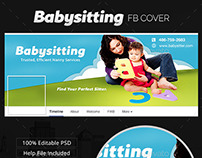 Babysitting Facebook Cover
