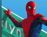 SPIDER-MAN: Homecoming in Low poly