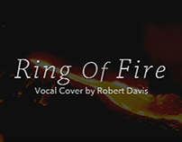Vocal cover, Ring Of Fire.