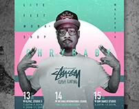 Chrybaby Lite Feet Asia tour 2018 [Poster Design]