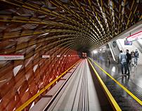 Warsaw - Metro staton concept