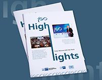 Folder - High Lights 100 years of AHK São Paulo