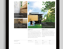 Measured Architecture website