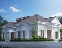 Rumah Klasik 1 Lantai di Taman Sidorejo Sidoarjo