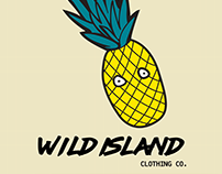 Wild Island clothing Co. logo