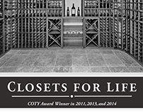 Closets For Life Print Ads 2015