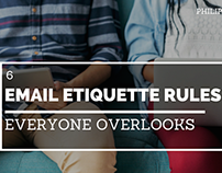 6 Email Etiquette Rules Everyone Overlooks