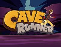 Cave Runner Game UI Design