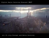 Digital Matte Painting Showreel 2017