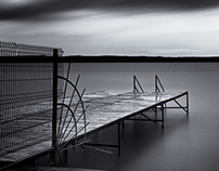 Rainy Morning  at Siófok - Lake Balaton - Hungary 2015