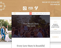 Wedding WordPress Theme - Features