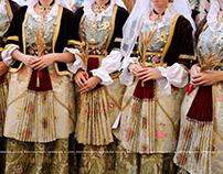 Gruppo folk Ruggeri di Pirri al Matrimonio selargino.