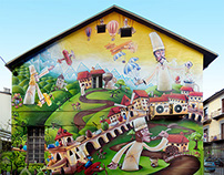 GUIDO GOBINO Chocolate Factory / Mural