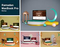 Ramadan MacBook Pro Mockup