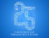 Đội Công tác xã hội ĐH Kinh tế TPHCM - 25th Anniversary
