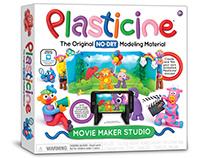 Plasticine Movie Maker Studio Illustration