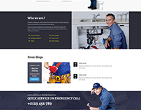 Plumber Pro - WordPress Plumber Theme