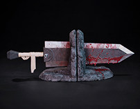 Berserk Bookends for Dark Horse