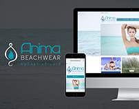 E-commerce + Catalogo Anima Beachwear
