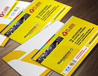 Name Card Design Of PT Aceh Distributor