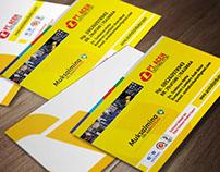 Name Card Design Of PT Aceh Distributor