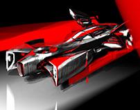 Antagonist hero car for Sketchfighter 2018