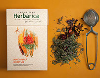 "Rebranding the line of herbal teas ""Herbarica"""