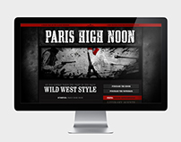PARIS HIGH NOON Website and Branding