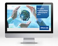 Allianz CSR 2014 online kiadvány