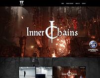 Telepaths Tree - website for game development studio