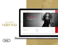 Website Redesign - Plaza Navona