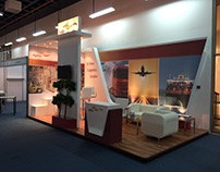 3d rendering booth