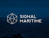 Visual identity for Signal Maritime