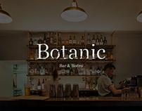 Botanic Bar & Bistro Brand Identity