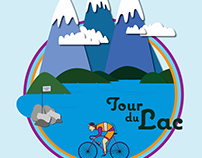 Bike Poster Illustration