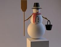 Snowman 3D Modelling