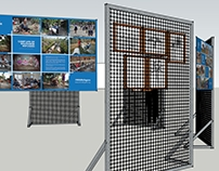 Artist's Exhibition - display stands