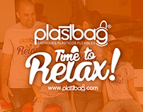 TSHIRT TIME TO RELAX PLASTBAG 2016