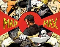 Mad Max Fury Road zine piece. Illustration.