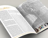 Création graphique et mise en page magazine
