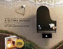 Hotsite do livro - A Última Música