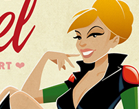 GI Joe Pinup Illustration