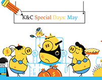 K&C Special Days MAY